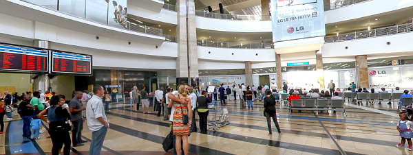 Arriving Johannesburg Airport car hire