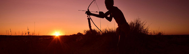 Car Hire Upington Airport - Bushman hunting
