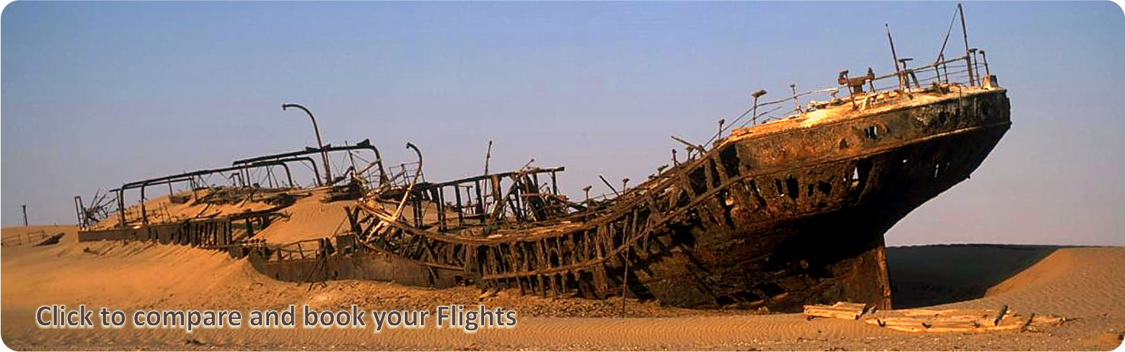 SS Eduard-Bohlen shipwreck - cheap flights to Windhoek